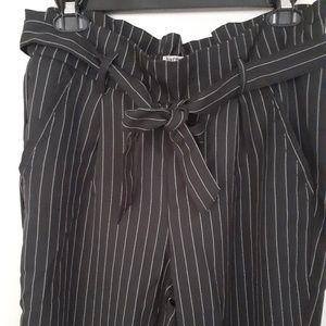 Stripped Pants. HARMONY and HAVOC